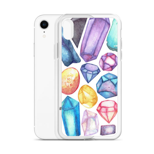 ?Gems Sweet Gems? iPhone case by Aussie Mineral Hub