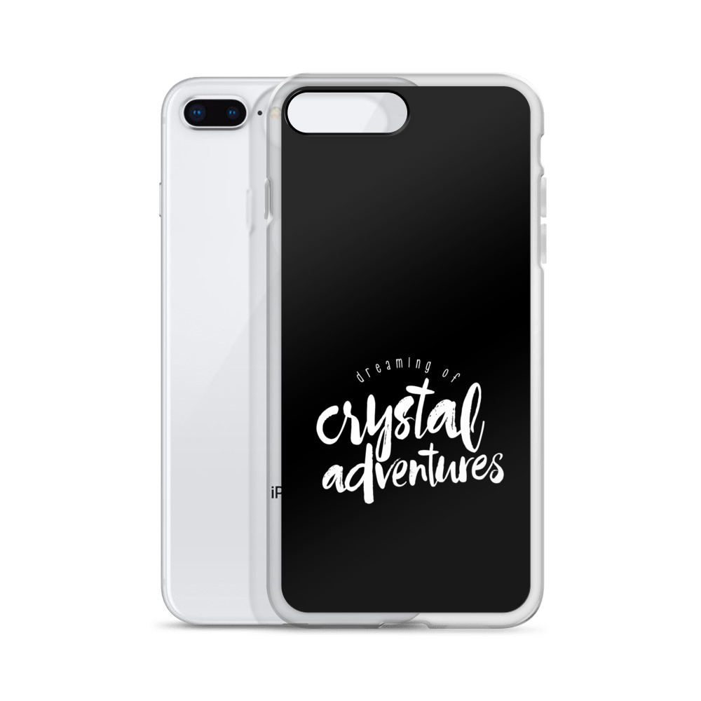 Dreaming of Crystal Adventures iPhone Case