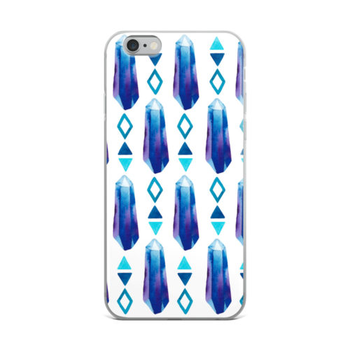 'Crystal Blues' phone case by Aussie Mineral Hub